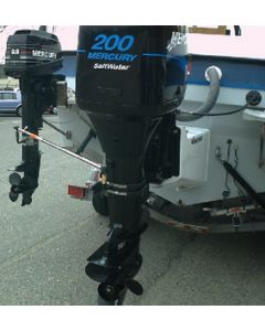 """Ez-steer E.Z.Steer Adjustable 19""""-22"""" Auxiliary Outboard to Outboard Steering System Kit"""