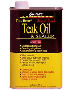 Boatlife Teak Bright Teak Oil-Qt.