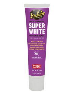 CRC White Grease 10 Oz Tube