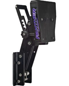 Panther Lightweight Aluminum Outboard Motor Bracket up to 15hp 55-0407AL