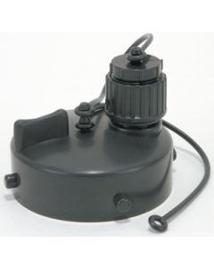 Valterra Gray Water Bayonet Fitting Blk - Gray Water Drain Adapter