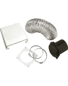 Westland Sales Deluxe Dryer Vent Kitwht. Abs - Splendide&Reg; Deluxe Dryer Vent Kit