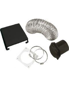 Dryer Vent Kit Deluxe Black - Splendide&Reg; Deluxe Dryer Vent Kit
