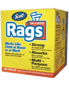 Kimberly Clark 75260 SCOTT RAGS-IN-A-BOX