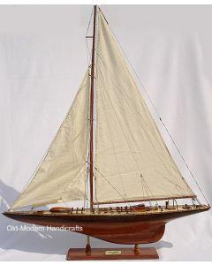 Old Modern Handicrafts Endeavour Yacht 1934 Model Ship Medium