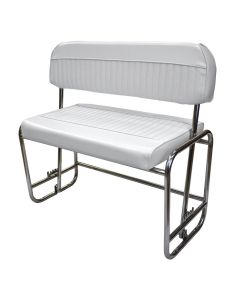 Wise Offshore Swingback Cooler Seat (cooler not included), White