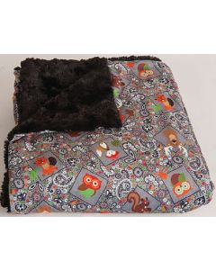 The Throw-Cozy Critters-Grey - The Throw