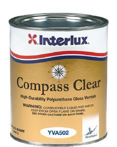 Interlux Compass Clear Varnish, Qt.