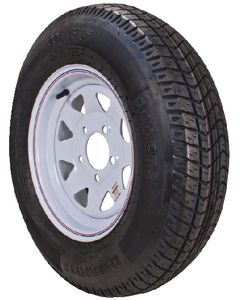 Loadstar Spoke Rim w/ST175/80R13C, 5H