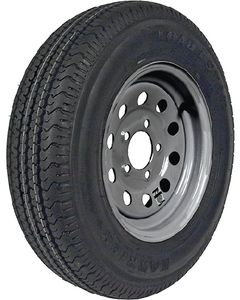 "Loadstar 13"" St Radial Tire & Wheel Assembly, St175/80r13 C/5-Hole Modular Galvanized"