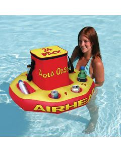Airhead Aqua Oasis 12 Can Floating Bar & Cooler