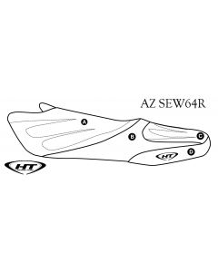 Kawasaki 1200 STX-R (02-05) / STX (03-05) / 900 STX (06) / STX (12-13) HT Premier Seat Cover by Hydro-Turf®