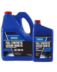 Volvo Penta Synthetic Gasoline Engine Oil, 10W-40