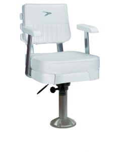 Wise 8WD562 - Ladder Back Helm Chair with Armrests