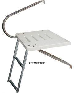 JIF Marine, LLC Platform, O/B with 2-Step or 3-Step Ladders - Over Platform or Under Platform