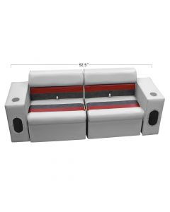 Wise WS13545 Deluxe Pontoon Standard Rear and Side Seating