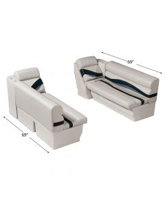 """Wise WS14011 Premier Pontoon Front Lounge 50"""" Group"""