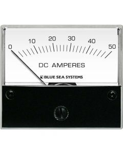 Blue Sea Systems DC Analog Ammeter 0-50A, 2-3/4 Face