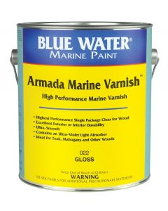 Blue Water Marine Paint Armada Wood Finish