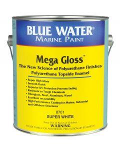Blue Water Marine Paint Mega Gloss 1-Part Topside Polyurethane Enamel