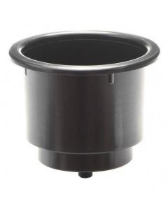 T-H Marine Supply, Large Cup Holder Black, Recessed Cup Holders
