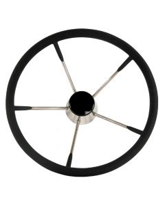 Whitecap Destroyer Steering Wheel - Black Foam - 13-1/2 Diameter