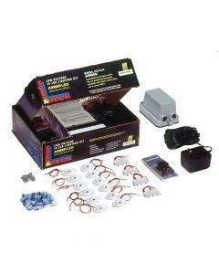 Innovative Lighting Dock Lighting Kit, Blue LED -White Case Cover