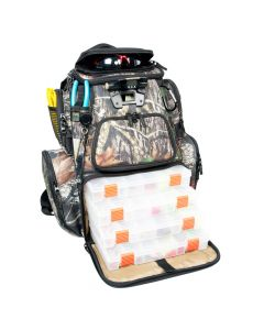 Wild River NOMAD Mossy Oak Tackle Tek Lighted Backpack w/4 PT3600 Trays