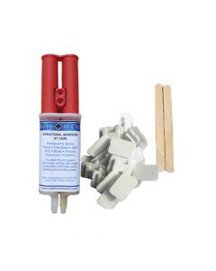 Weld Mount Retail Wire Tie Kit w/AT-1030 Adhesive