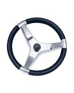 Ongaro Schmitt Evo Pro 316 Cast Stainless Steel Steering Wheel - 13.5Diameter