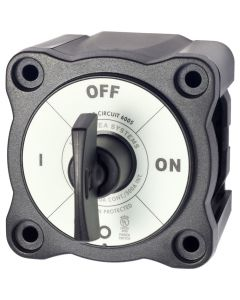Blue Sea Systems Blue Sea 6005200 Battery Switch Single Circuit ON-OFF - Black
