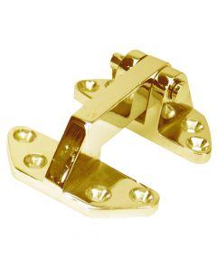 "Whitecap Standard Hatch Hinge - Polished Brass - 2-5/8"" x 3-1/8"""