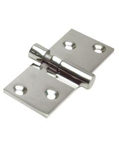 """Whitecap Take-Apart Motor Box Hinge (Locking) - 316 Stainless Steel - 1-1/2"""" x 3-5/8"""""""