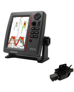 Si-Tex SVS-760 Dual Frequency Sounder 600W Kit w/Transom Mount Triducer