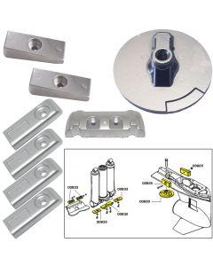 Tecnoseal Anode Kit w/Hardware - Mercury Verado 6 - Aluminum
