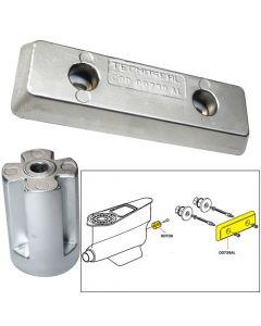 Tecnoseal Anode Kit w/Hardware - Volvo IPS - Zinc/Aluminum