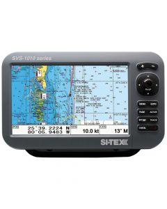 Si-Tex SVS-1010CE 10 Chartplotter w/Internal GPS Antenna & Navionics+ Card