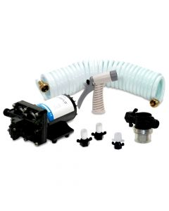 Shurflo BLASTER II Washdown Kit - 12VDC, 3.5GPM w/25' Hose, Nozzle, Strainer & Fittings
