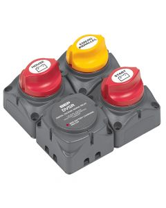 Marineco BEP Square Battery Distribution Cluster f/Single Engine w/Two Battery Banks