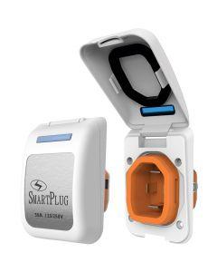 SmartPlug 50 Amp Non Metallic White Inlet