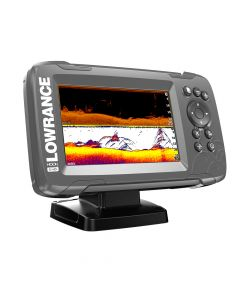 "Lowrance HOOK²-5 5"" Chartplotter/Fishfinder SplitShot Transom Mount Transducer w/Built-In US Inland Charts"