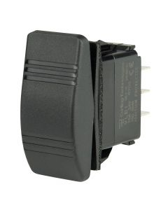 BEP DPDT Contura Switch - (ON)/OFF/(ON)