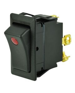 BEP SPST Rocker Switch - 1-LED - 12V - ON/OFF