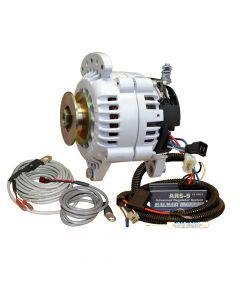 Balmar 60 Series Alternator - Saddle Mount(Dual Foot) Charging Kit - 70A - 12V