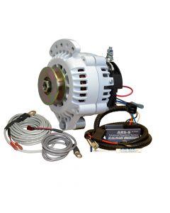 Balmar 621 Series Alternator - Spindle Mount(Single Foot) Charging Kit - 70A - 12V