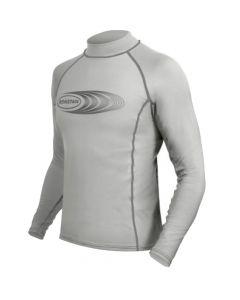 Ronstan Long Sleeve Rash Guard Top - UPF50+ - Ice Grey - XXS