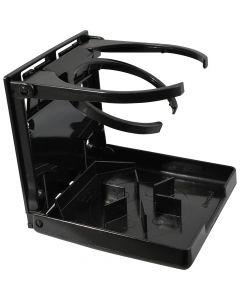 Attwood Fold-Up Drink Holder - Dual Ring - Black