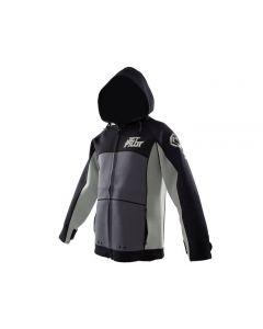 Jet Pilot Tour Coat Black