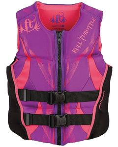 Women's Hinged Rapid-Dry Flex-Back Vest - Full Throttle