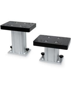 Aluminum Fixed Base Downrigger Pedestal